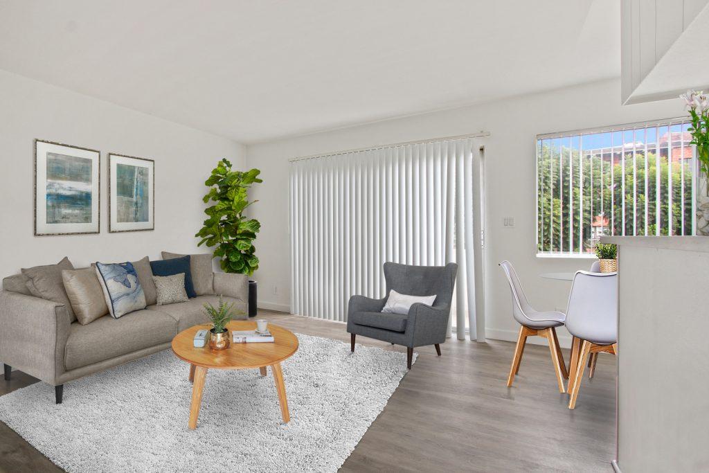 Veteran Apartments Living Room