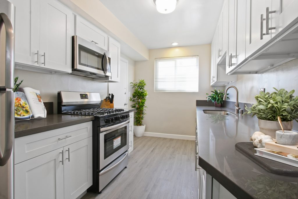 Levering Apartments Kitchen
